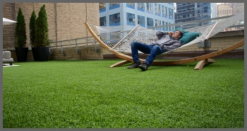synthetic turf for common areas