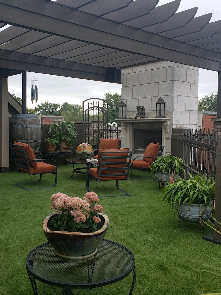 artificial grass for rooftops