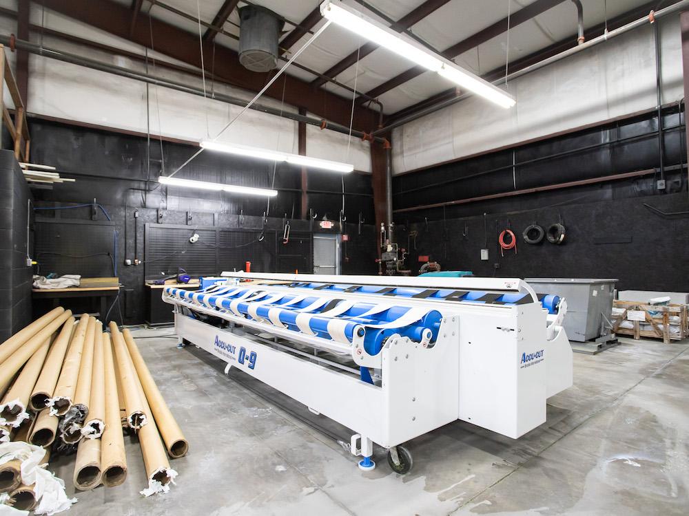 Accu-Cut Q9 artificial turf wholesale cutting machine