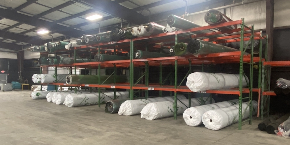 our warehouse to buy artificial grass
