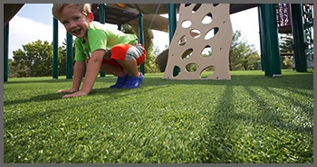 synthetic turf for playgrounds